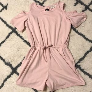 This item is a I pink romper for girls